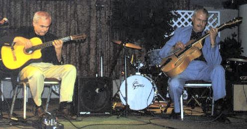 Gene Bertoncini and Kenny Poole