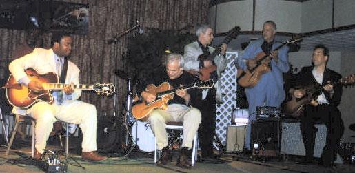 Late Night Jam: Russell Malone, Gene Bertoncini, Jimmy Bruno, Kenny Poole, Barry Greene