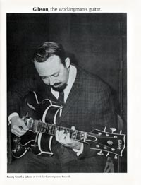 Gibson, the workingman's Guitar - Gibson Barney Kessel - 1967