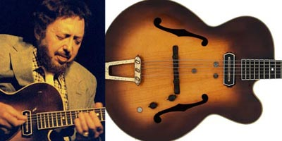 Barney Kessel's legendary Gibson ES-350 for sale