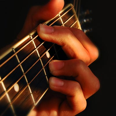 Harmonizing a scale or chord progressions is the basis of the jazz guitar sound
