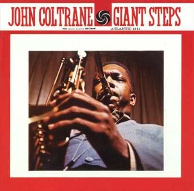 The classic album Giant Steps by John Coltrane