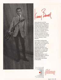 Kenny Burrell Gibson Super 400 CES - 1966