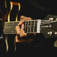 Jazz Guitar Chords: Lesson 1, every day seventh chords with a sixth string root